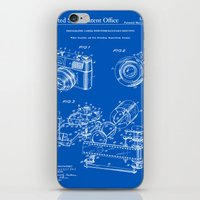 Camera Patent 1963 - Blueprint iPhone & iPod Skin