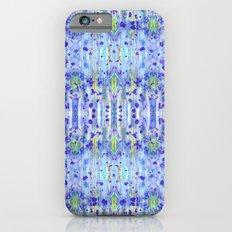 Royal Blue Ikat Slim Case iPhone 6s