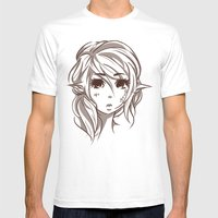 Elven Mens Fitted Tee White SMALL