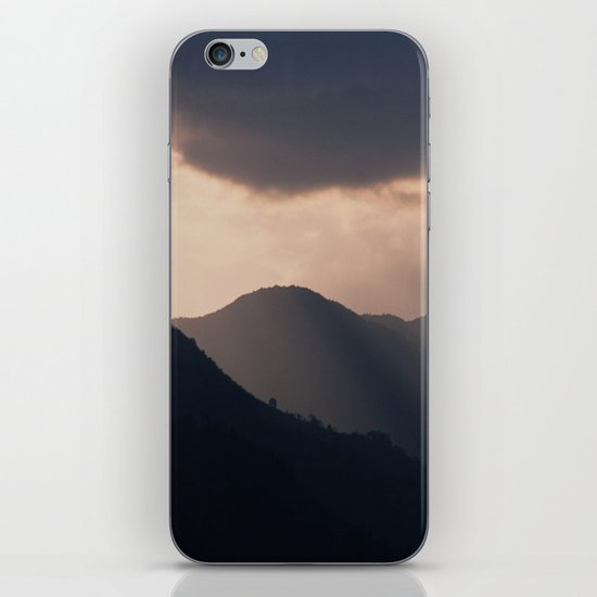 let there be night iPhone & iPod Skin