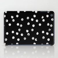 White Dots iPad Case
