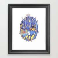 Not All Those Who Wonder… Framed Art Print