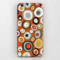 Veneto Boho Spot Amber iPhone & iPod Skin
