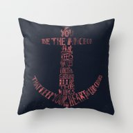 Throw Pillow featuring You Be The Anchor That K… by Alejandro Giraldo