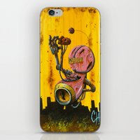 A Pink Robot For Akira iPhone & iPod Skin