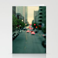 Neon Summer Stationery Cards
