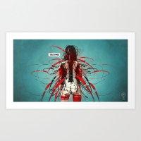 Nymph III: Exclusive Art Print