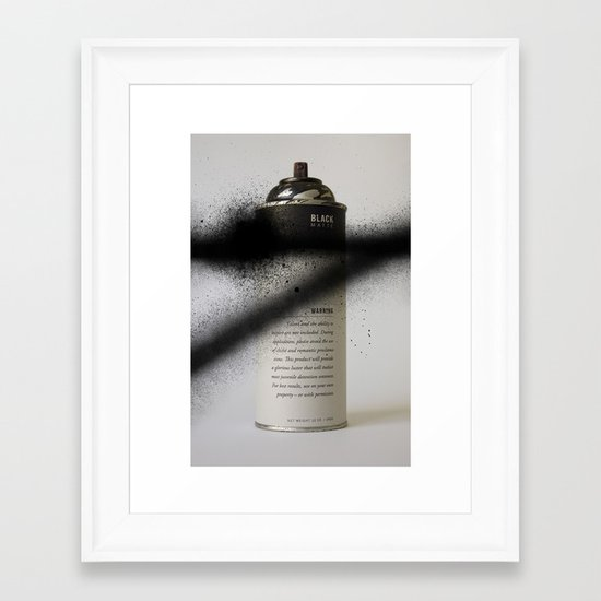 Juvenile Detention Framed Art Print