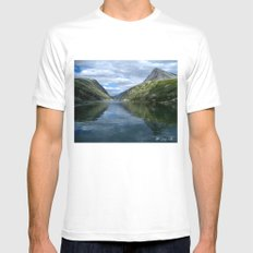 Rondane - Rondevannet  Norway Mens Fitted Tee White SMALL