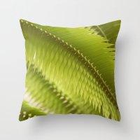 Lemon Grass Throw Pillow