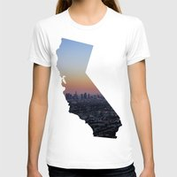 california T-shirts featuring California by jamester42