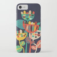 flowers iPhone & iPod Cases featuring Wild Flowers by Picomodi
