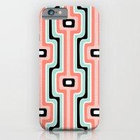 Coral Stripe Mod iPhone 6 Slim Case