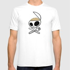 Zombie nation meal time Mens Fitted Tee White SMALL