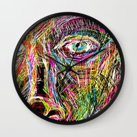 The Most Gigantic Lying Eyes Wall Clock