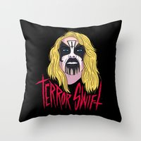 Terror Swift Throw Pillow