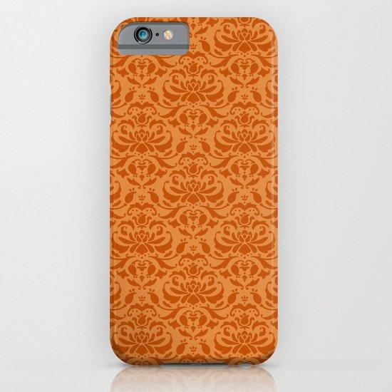 Cloud Factory Damask - Marshflower iPhone & iPod Case