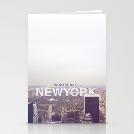 New York Stationery Card