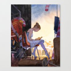 The Understudy Canvas Print