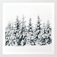 snow Art Prints featuring Snow Porn by Tordis Kayma