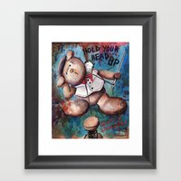 Hold Your Head UP (2015) Framed Art Print