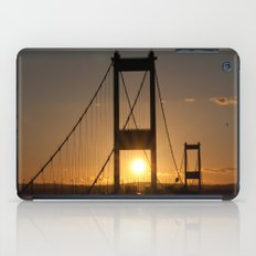 Severn Bridge Sunset iPad Case