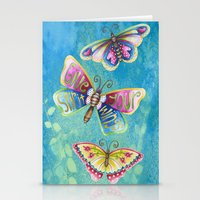 Give Your Spirit Wings  Stationery Cards