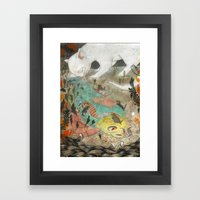 Mama Cat Framed Art Print