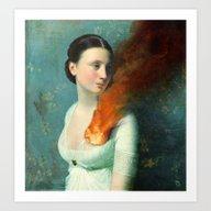 Art Print featuring Portrait Of A Heart  by Christian Schloe