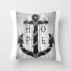 H O P E Throw Pillow