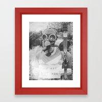 Make Art  Framed Art Print