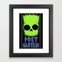 Post Bartem Framed Art Print