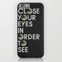 CLOSE YOUR EYES iPhone 6 Slim Case