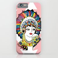 Traditional Tattoo Woman iPhone 6 Slim Case
