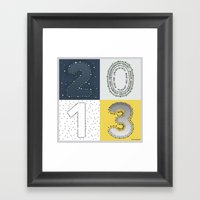 Two Thousand And Thirtee… Framed Art Print