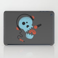 Calavera rockera / Rocking skull iPad Case