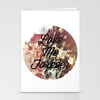 Locket Bridge In Paris Stationery Cards