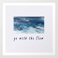 Oahu: Go With The Flow Art Print
