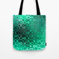 Wobbly Dots Light In Min… Tote Bag