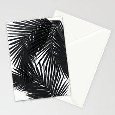 Palms Black Stationery Cards