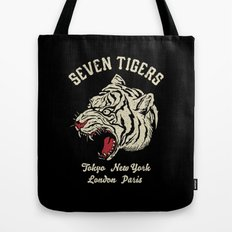Seven Tigers Tote Bag
