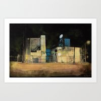 Forsaken Off Sunset Junction Art Print