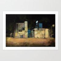 Forsaken Off Sunset Junction Art Print