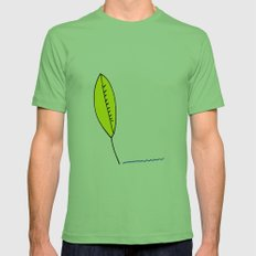 Plume Mens Fitted Tee Grass SMALL