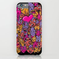 iPhone & iPod Case featuring Face Melter by MOONGUTS (Kyle Coughlin)