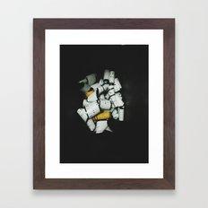 120 Backing Framed Art Print