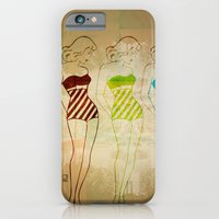 iPhone & iPod Case featuring Retro Swimsuit by Ed Pires