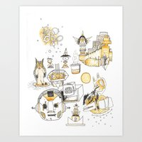 Golden Hour Art Print