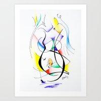 Cuerpo De Mujer (estudio… Art Print