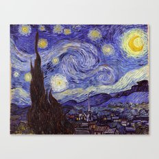 Vincent Van Gogh Starry … Canvas Print